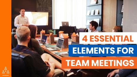 4 Elements of a Good Team Meeting