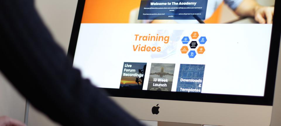 academy homepage